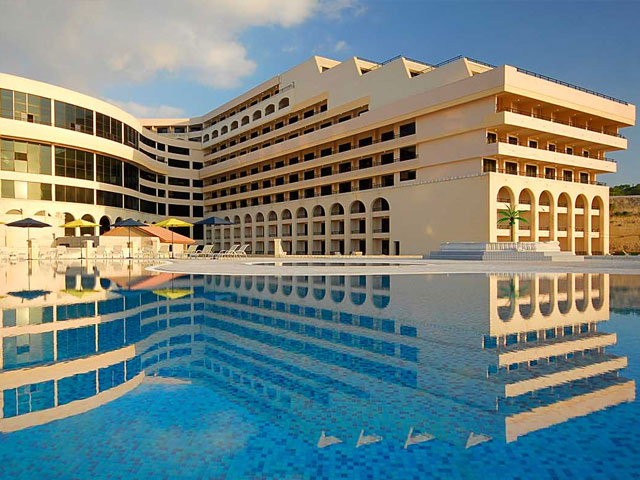 Hilton Hotel St Julians Bay Malta